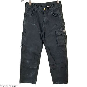 Dakota Black Work Carpenter Cargo Pants sz 30